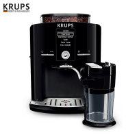 德国krups进口家用咖啡机办公室意式泵压式全自动蒸汽现磨打奶泡